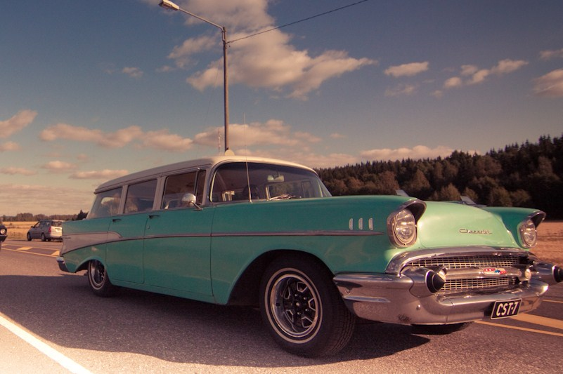 1957 Chevrolet 210 Wagon<br>350 + TH350