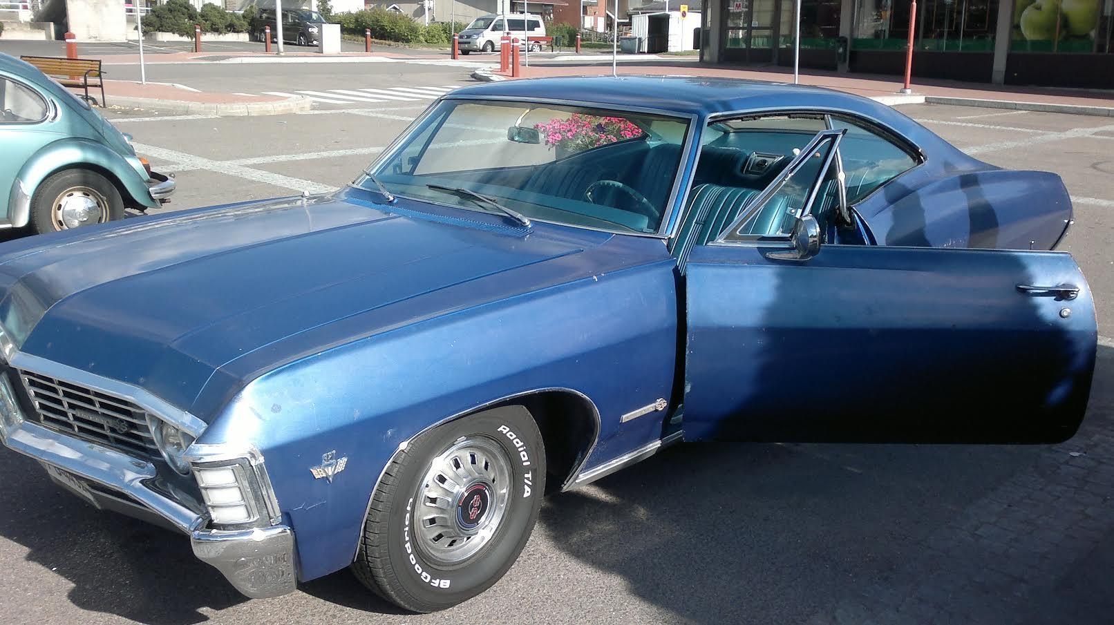 1967 Chevrolet Impala SS,<br>327cid + Muncie 4sp.,