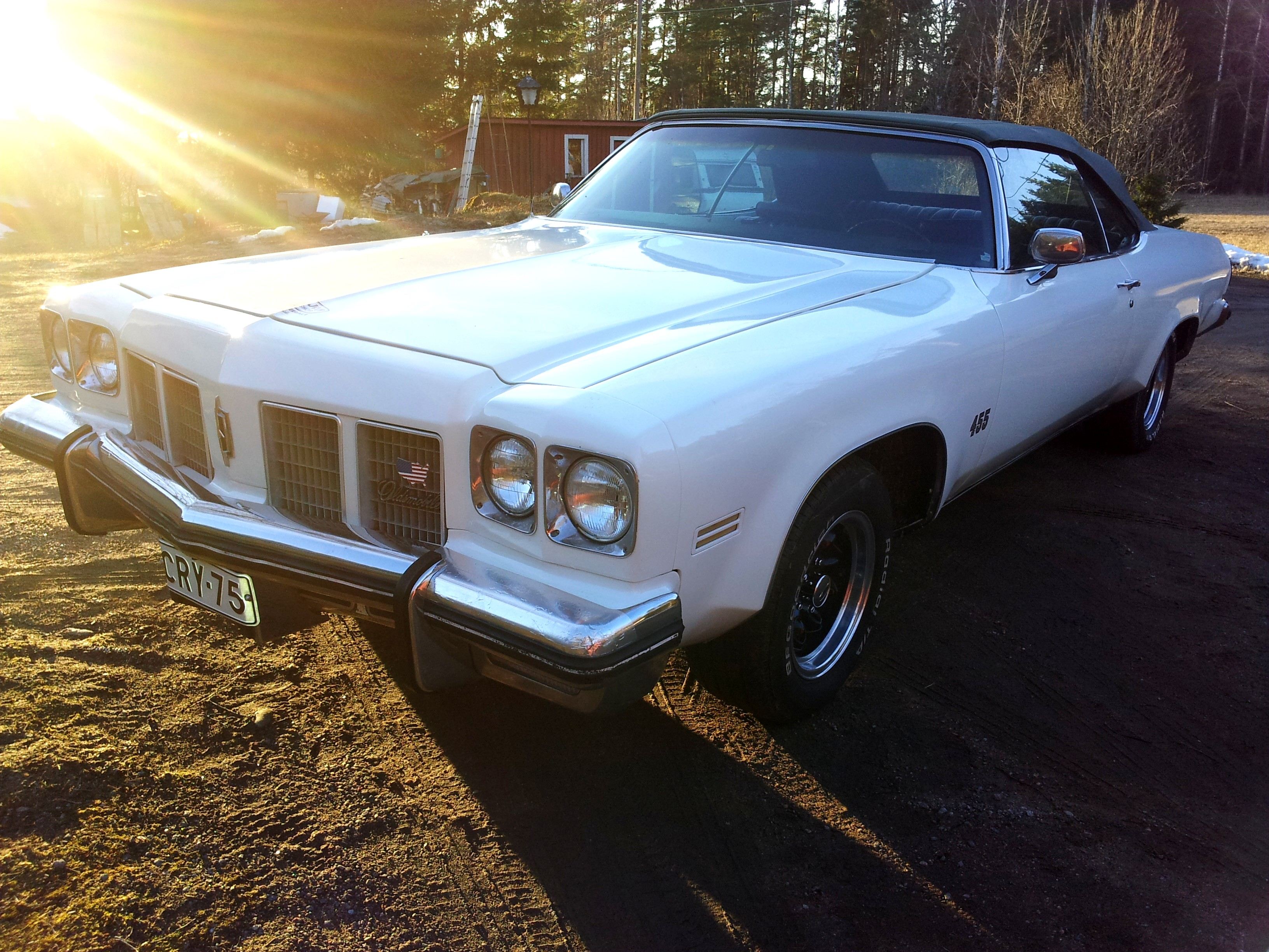 1975 Oldsmobile Delta 88 Royale convertible 455cid