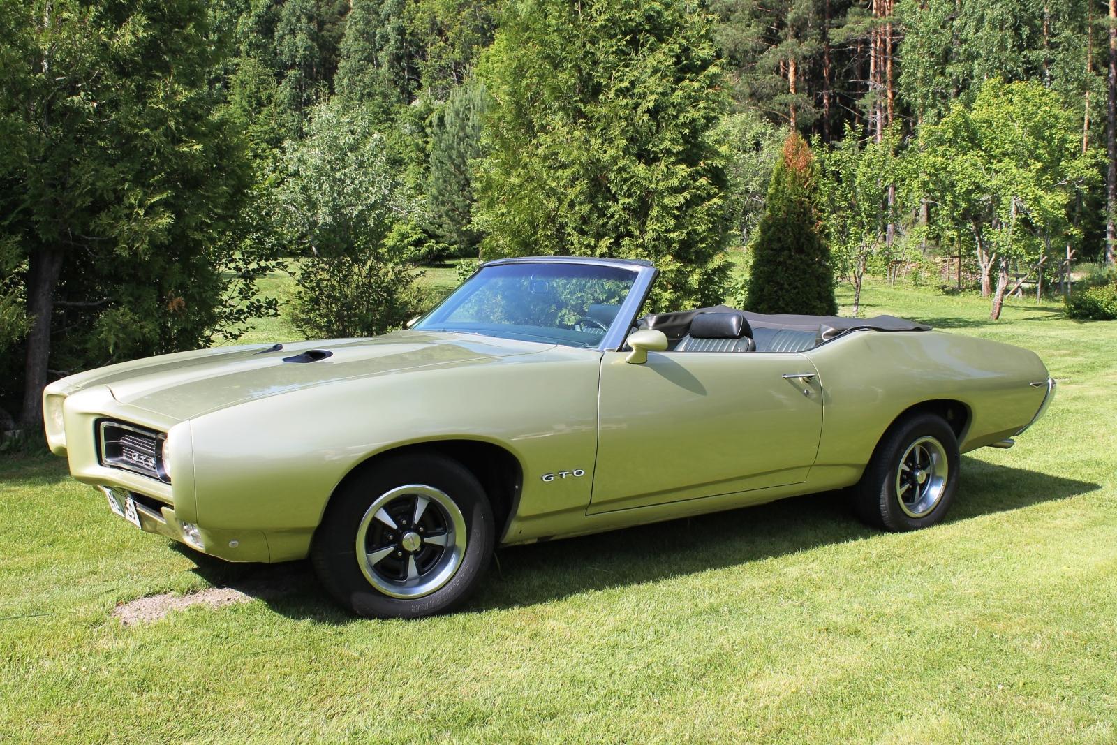 1969 Pontiac GTO<br>400cid+TH400