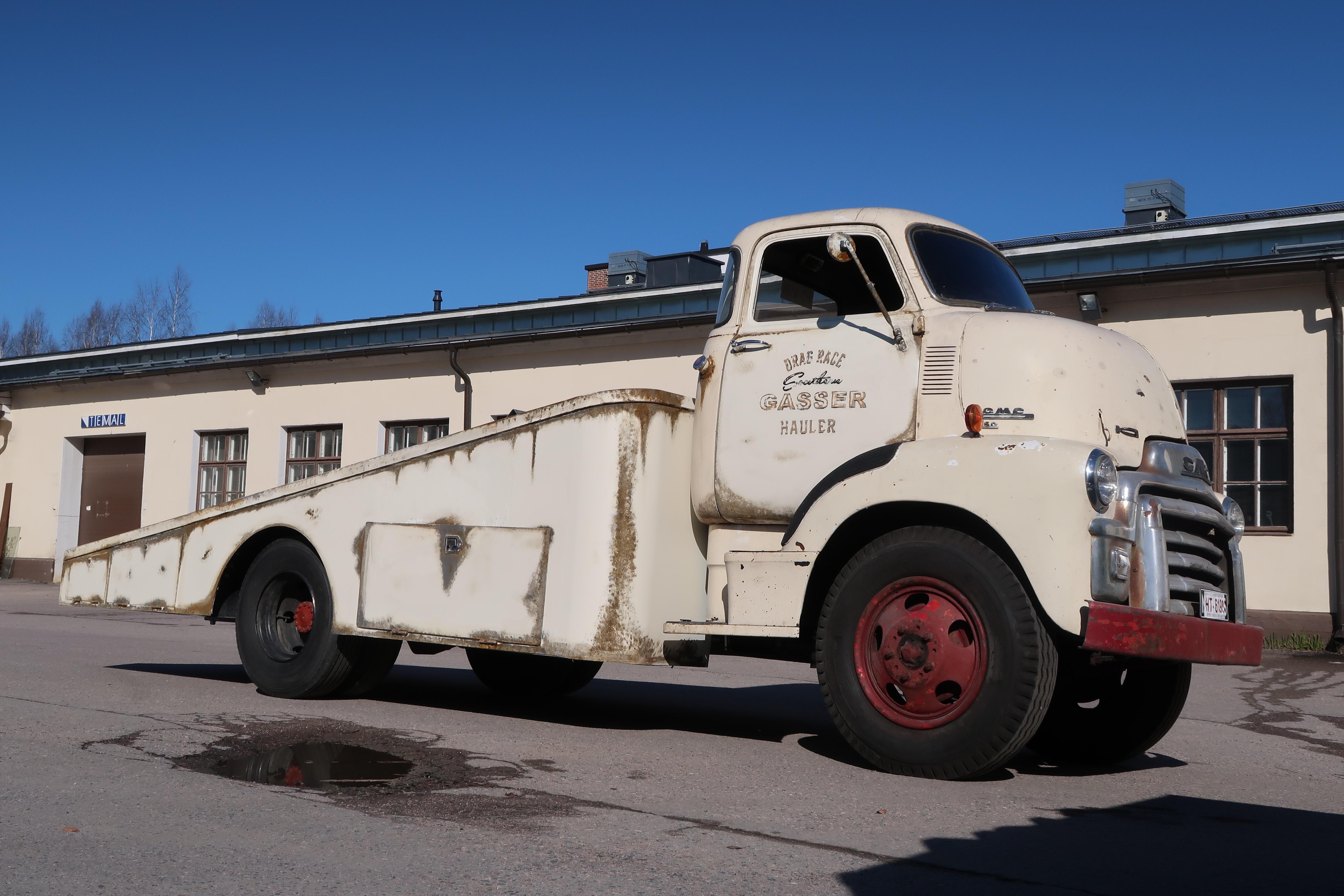 GMC 350 1955 COE Truck