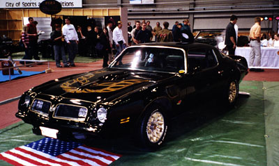 1975 Pontiac Firebird Trans Am<br>400cid+TH350