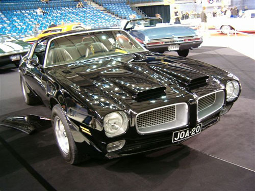 1971 Pontiac Firebird<br>350cid+TH350