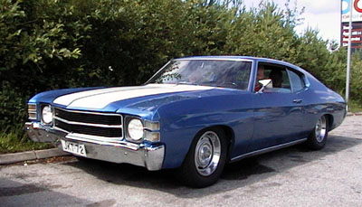 1972 Chevrolet Chevelle<br>350cid+TH350