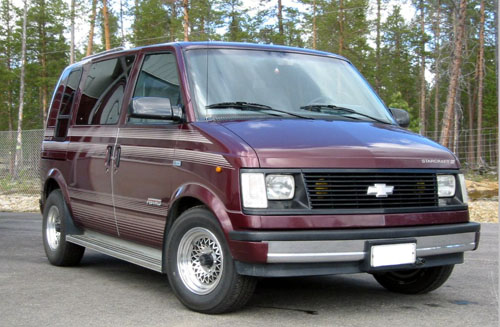 1989 Chevrolet Astro Van<br>4.3L+TH700