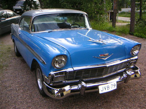 1956 Chevrolet Bel Air 2d HT<br>402cid+TH400