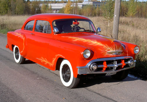 1953 Chevrolet 150 series 2D<br>350cid+TH350