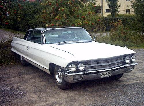 1962 Cadillac Coupe De Ville 2d HT<br>390cid+Hydramatic