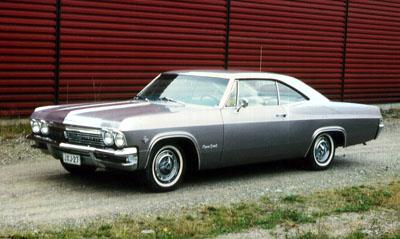1965 Chevrolet Impala Super Sport 2d HT<br>327cid+PG