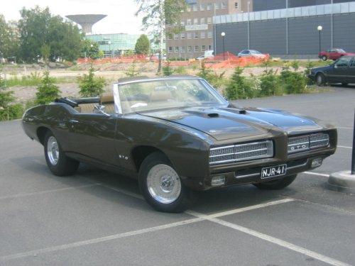 1968 Pontiac GTO Convertible<br>427cid+5v. Dough Nash