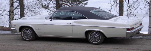 1966 Chevrolet Impala Super Sport<br>396cid+TH400