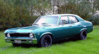 1968 Chevrolet Nova 4d<br>350cid+TH700R