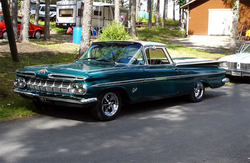 1959 Chevrolet El Camino<br>327cid+TH350