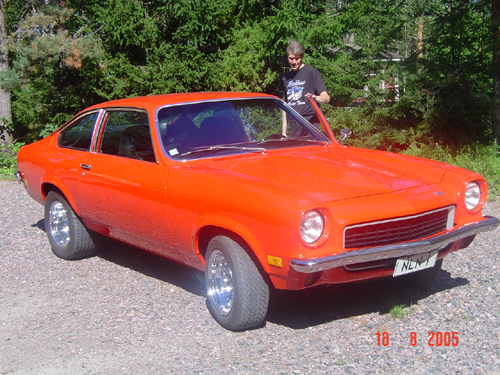 1973 Chevrolet Vega<br>350cid+TH350