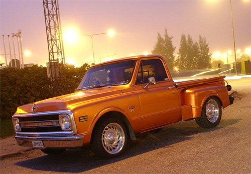 1967 Chevrolet C-10 Stepside<br>350cid+TH350