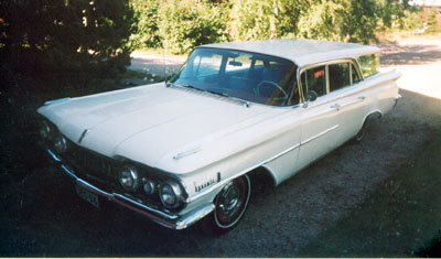 1959 Oldsmobile Dynamic 88 Fiesta<br>371cid+Hydramatic Jet-A-Way