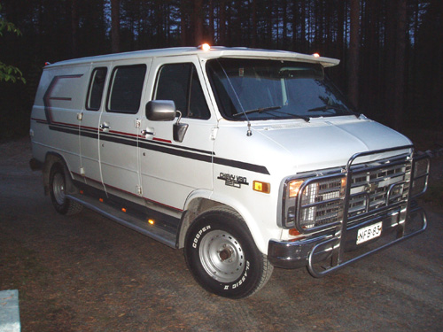 1989 Chevrolet Chevy Van G20<br>6.2D+TH700