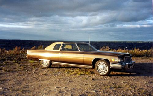1976 Cadillac Coupe de Ville D`Elegance<br>500cid+TH400
