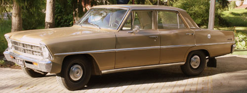 1967 Chevrolet Nova<br>193cid+3sp. manual