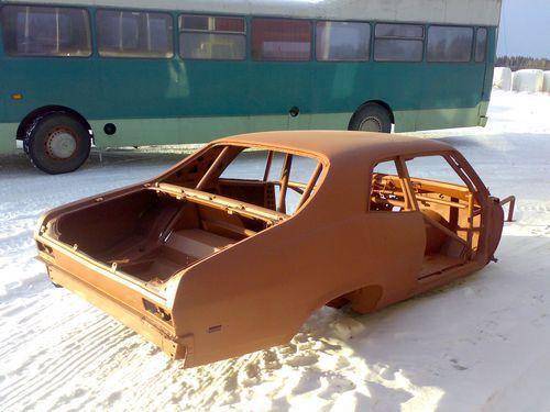 1969 Chevrolet Nova 4d sedan