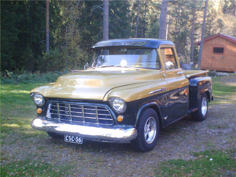 1956 Chevrolet 3100<br>327cid+TH350