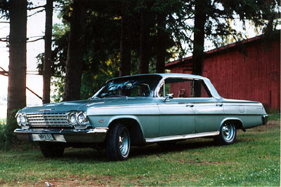 1962 Chevrolet Impala Sport Sedan<br>327cid+PG