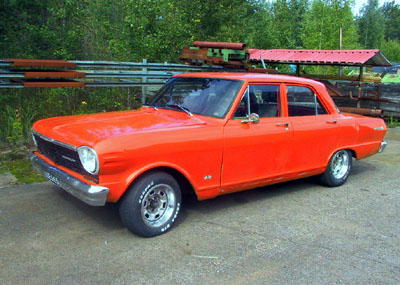 1964 Chevrolet Chevy II<br>350cid+4sp. manual