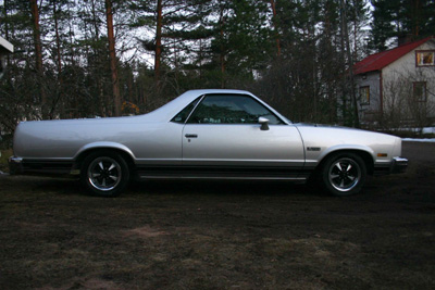 1984 Chevrolet El Camino<br>350cid EFI+TH350