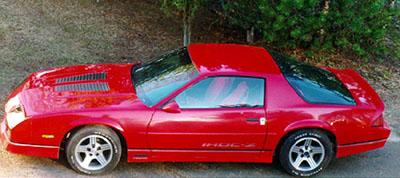 1988 Chevrolet Camaro IROC-Z<br>350cid TPI+TH700