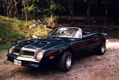 1976 Pontiac Firebird Formula 400<br>400cid+TH400