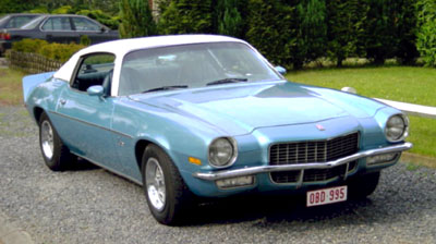 1971 Chevrolet Camaro<br>307cid+TH350