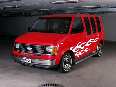 1991 Chevrolet Astro Starcraft<br>262cid+TH700