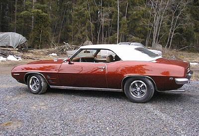 1969 Pontiac Firebird<br>400cid (Hestec)+TH350 (Simuna)