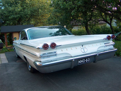 1960 Pontiac Bonneville 2dHT Sports Coupe<br>389cid+Hydramatic