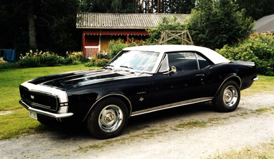 1967 Chevrolet Camaro SS 350<br>350cid+TH350