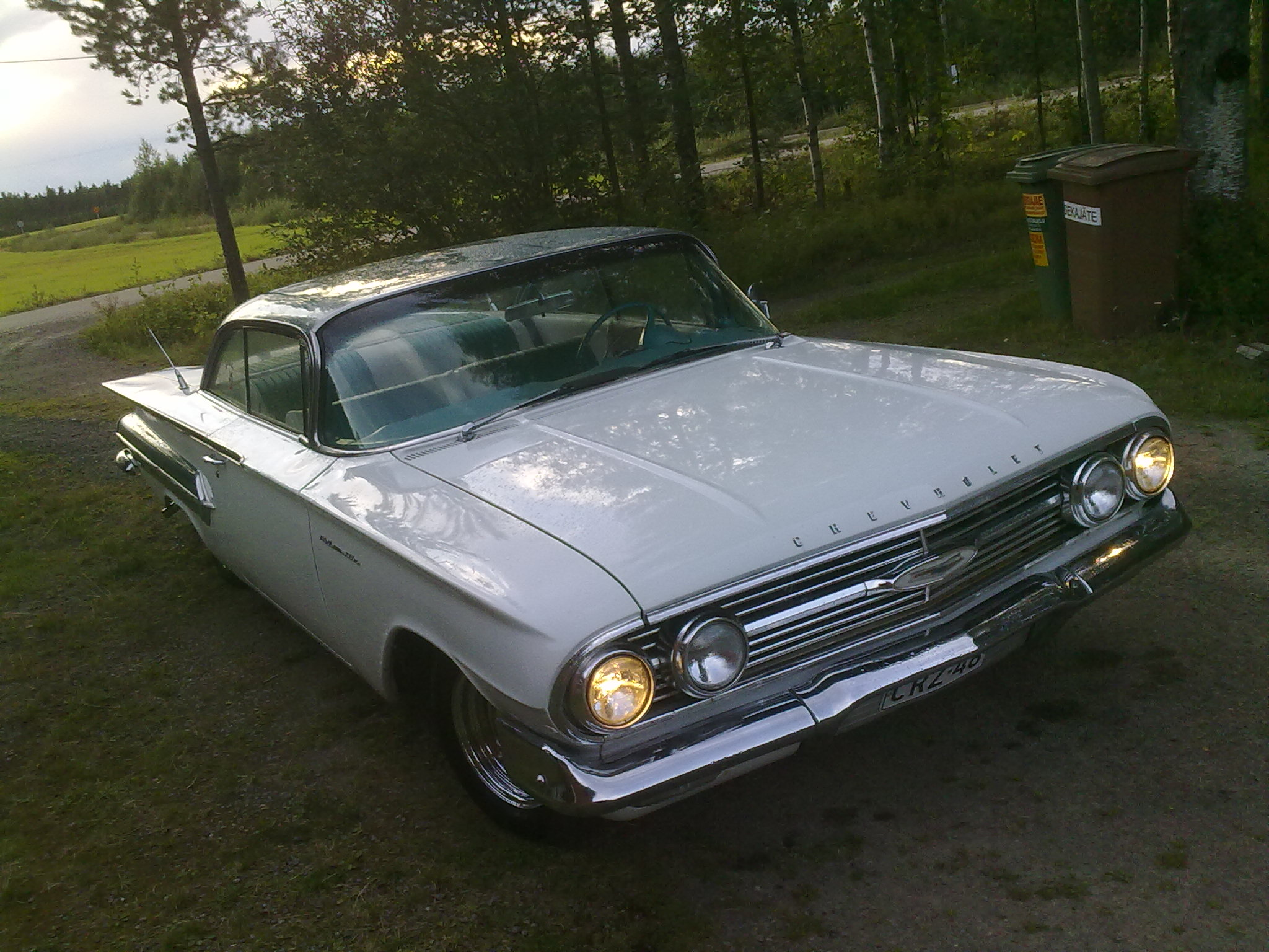 1960 Chevrolet Bel Air 2 Door Sport Coupe<br>327cid+M21