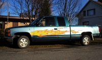 1993 Chevrolet Fleetside Silverado K1500<br>4.3 V6+TH700