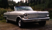 1962 Chevrolet Nova Convertible<br>sbc+th350