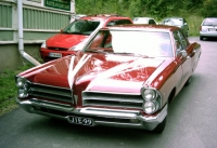 1965 Pontiac Parisienne 4d<br>283cid+PG