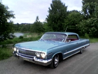 1963 Chevrolet Impala SS<br>327cid+
