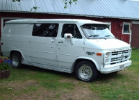 1988 Chevrolet Chevy Van G20<br>6.2D+TH700