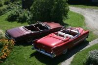 1955 Cadillac Eldorado Special Sport (265cid+Hydramatic)<br>1973 Pontiac Grand Ville Convertible Coupe (455cid+TH400)