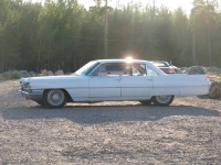 1963 Cadillac de Ville six window sedan<br>390cid + Hydramatic