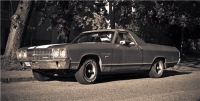 1970 Chevrolet El Camino<br>350cid+TH350