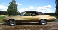 1970 Buick GS 455 Stage 1 Convertible<br>455cid+TH400