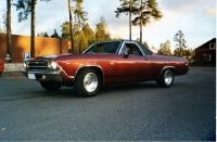 1969 Chevrolet ElCamino SS 396<br>402cid+TH350 manual.