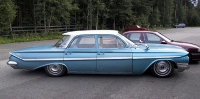 1961 Chevrolet Bel Air 4d<br>350cid+PG