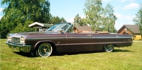 1964 Chevrolet Impala Convertible<br>327cid+TH350