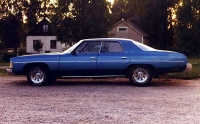 1974 Chevrolet Impala sport 4DHT<br>350cid+TH350
