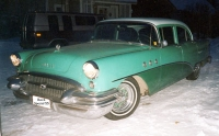 1955 Buick Special 4d sedan<br>350cid+TH350